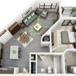Bedroom Apartments House Plans