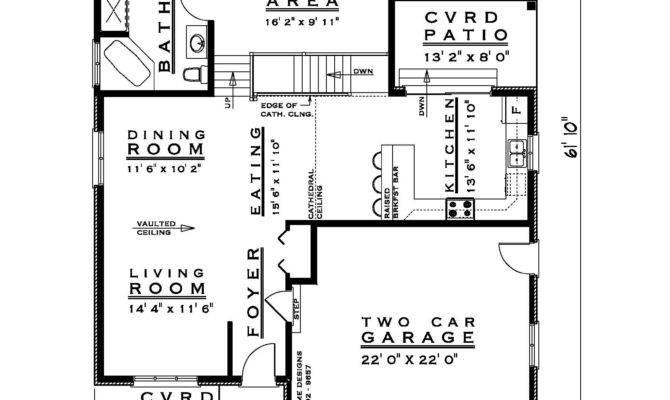 Bedroom Backsplit House Plan Feet