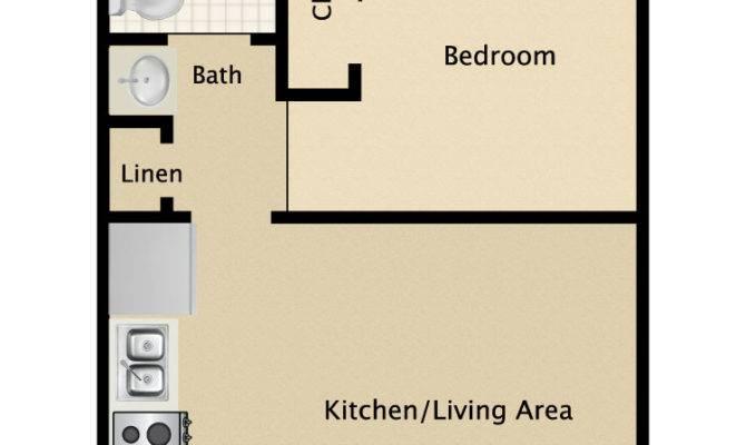 Bedroom Bath Apartment Floor Plans Latest
