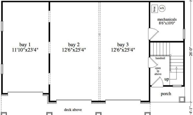 Bedroom Bath Cabin Lodge House Plan Alp