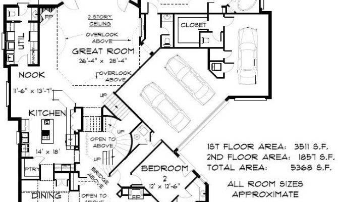 Bedroom Bath Coastal House Plan Alp