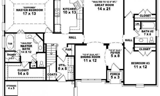 Bedroom Bath Floor Plan House