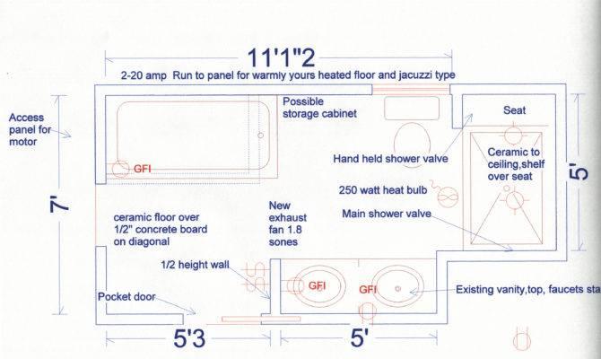 Bedroom Bath Floor Plans Home