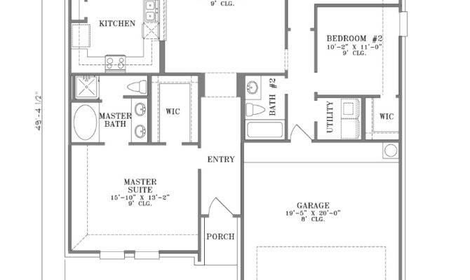 Bedroom Bath Floor Plans Marceladick
