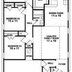 Bedroom Bath House Plans Real Estate