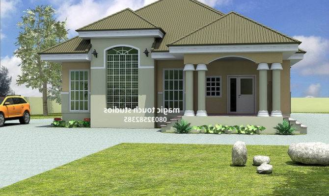 Bedroom Bungalow House Plans Nigeria