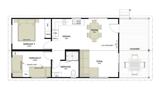 Bedroom Cabin Plans Real Estate