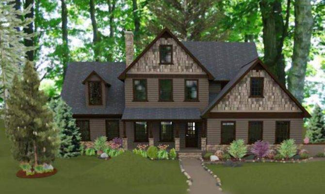 Bedroom Country Cottage House Plan Max Fulbright Designs