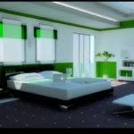 Bedroom Designs Idea Modern Green Design