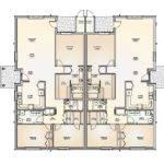 Bedroom Duplex Floor Plans