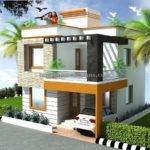 Bedroom Duplex House Elevation Design Latest Home Designs