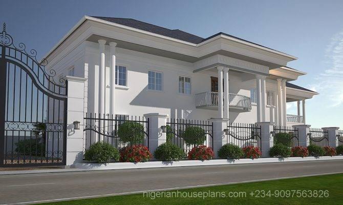 Bedroom Duplex House Plans Nigeria