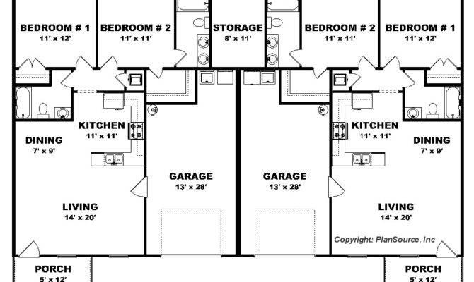 Bedroom Duplex Plans Fairwaymanagement Property Websites