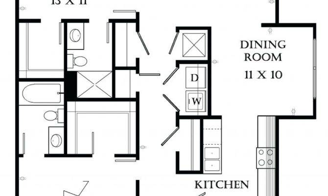 Bedroom Flat Architectural Drawing Duashadicom Floor Plan