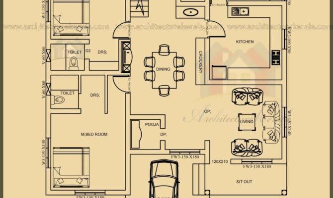 Bedroom Floor House Plan Kerala Indiepedia