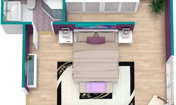 Bedroom Floor Plan Roomsketcher