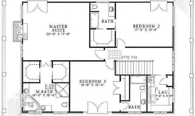 Bedroom Floor Plans Wrap Around Porch