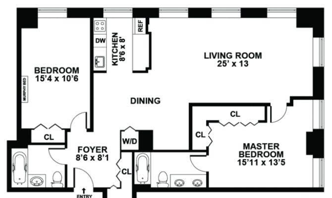 Bedroom Garage Apartment Floor Plans