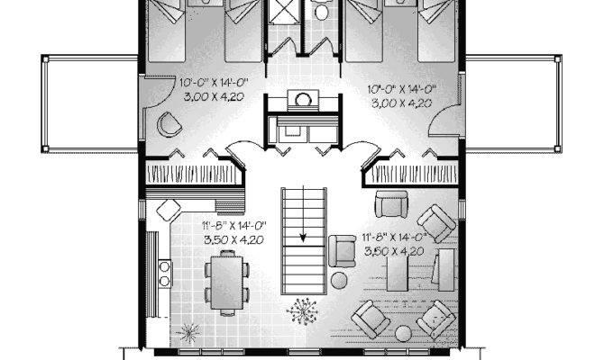 Bedroom Garage Apartment Plans
