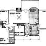 Bedroom House Floor Bath Open Plan Home