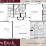 Bedroom House Floor Mobile Home Plans