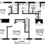 Bedroom House Floor Plans Home Deco