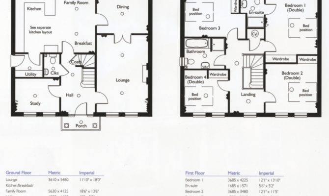 Bedroom House Floor Plans Home Design Ideas Also
