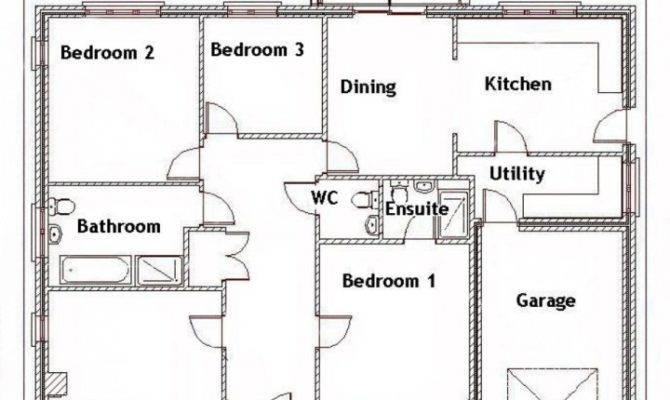 Bedroom House Floor Plans Kenya Savae
