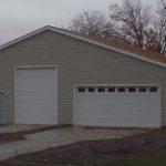 Bedroom House Floor Plans Moreover Garage Building