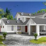 Bedroom House Gable Roof Type Design