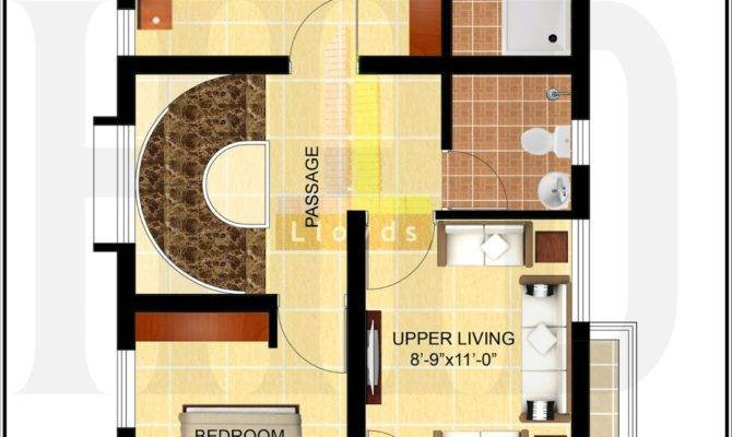 Bedroom House Plan Less Than Cents Kerala Home