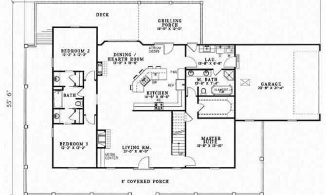 Bedroom House Plans Bonus Room Real Estate