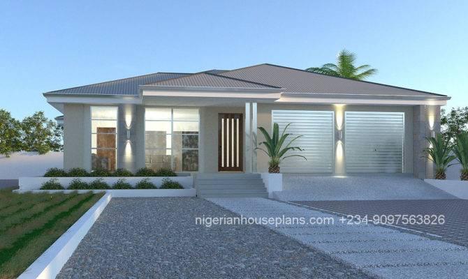 Bedroom House Plans Designs Nigeria