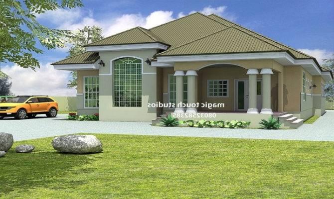 Bedroom House Plans Designs Uganda Home Combo