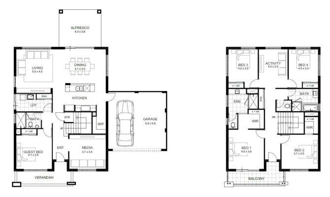 Bedroom House Plans Home Interior Also Floor