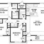 Bedroom House Plans Open Floor Plan