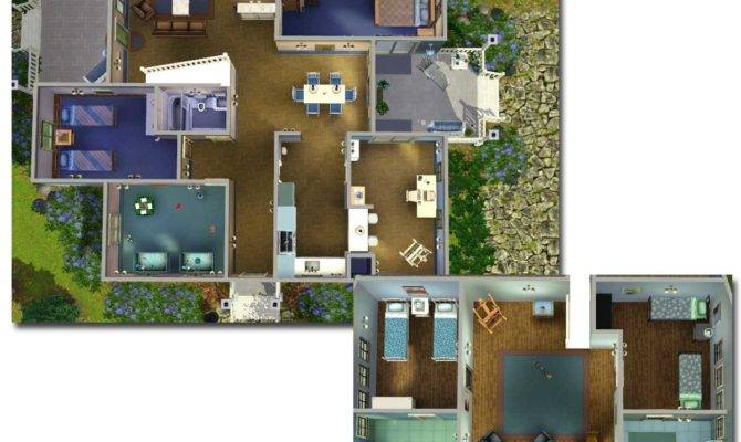Bedroom House Plans Sims