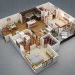 Bedroom House Plans Single Storey Designs Philippines