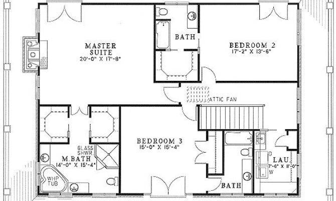 Bedroom House Plans Wrap Around Porch Indiepedia