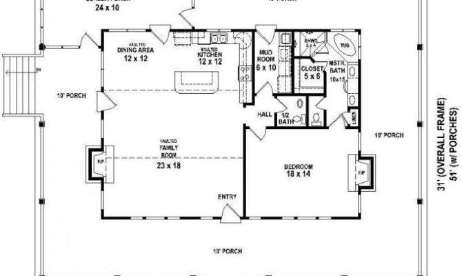 Bedroom House Plans Wrap Around Porch Lovely