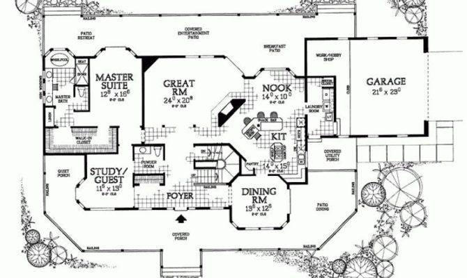 Bedroom House Plans Wrap Around Porch Unique