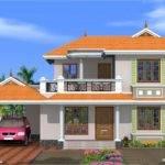 Bedroom Kerala Model House Design Home Floor Plans Dma