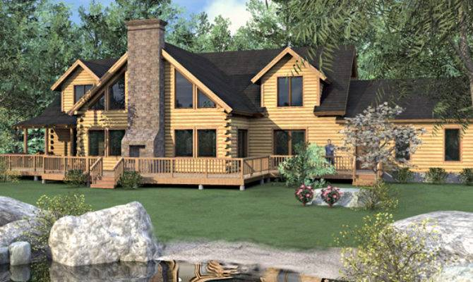 Bedroom Log Home Floor Plans