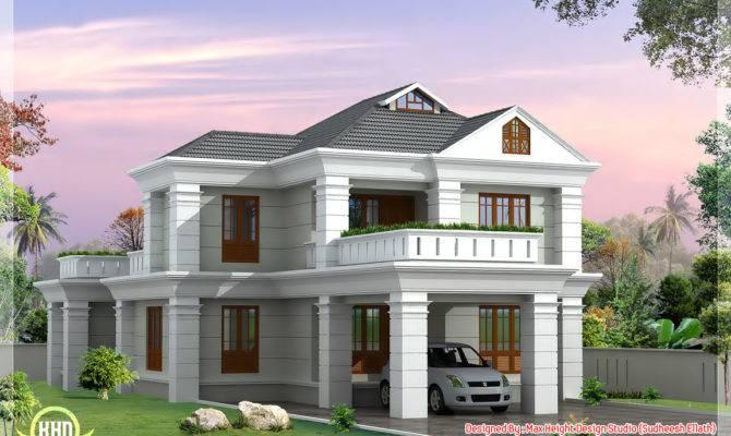 Bedroom Luxurious Small Villa Keralahousedesigns