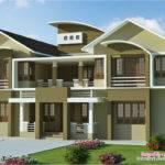 Bedroom Luxury Villa Design Feet Kerala