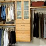 Bedroom Magnificent Design Wooden Closet Organizer