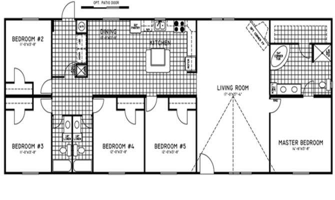 Bedroom Mobile Home Plans Submited
