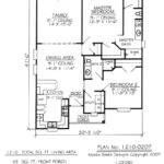 Bedroom One Story House Plans Floor Two Homes