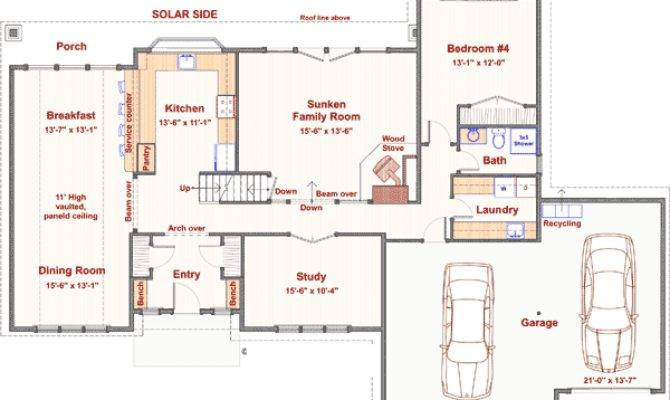 Bedroom Passive Solar Design
