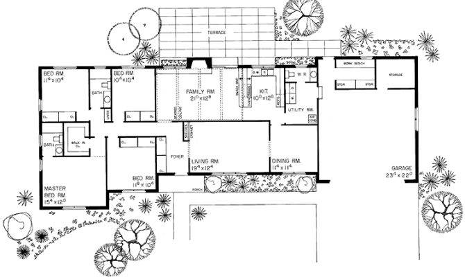 Bedroom Ranch House Plans